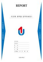 유원대학교 레포트 표지 v17