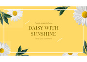 Daisy Powerpoint Template