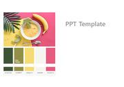 [PPT템플릿] 옐로우/그린/핑크 컬러 템플릿 - 직접 제작한 PPT 템플릿으로 깔끔한 스타일을 원하시는 분들은 다운로드 해서 사용해주시면 좋습니다