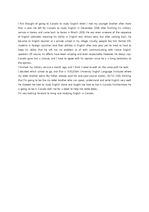 영문 유학계획서(비자신청)