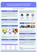PPT 논문 포스터 템플릿 05- [90 X 120 cm] 졸업논문 PPT 포스터 템플릿